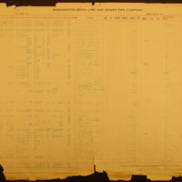 Washington Brick, Lime and Sewer Pipe Company Clayton payroll ledger (Pg 003)