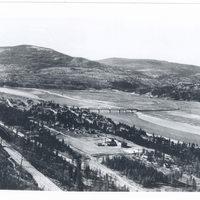 Railways and Waterways and Bridge across Columbia at Marcus