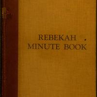 Rebekah Minute Book October 1927 - November 1932 (Pg 001)