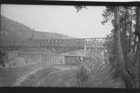 Construction of new bridge over the Columbia at Kettle Falls