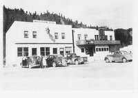 Kellers Hotel & Cafe and theater in Kettle Falls.