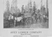 Logging at Hummer Flat above Boyds