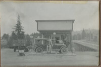 Howard and John Forney - Forney's Auto Service 1925