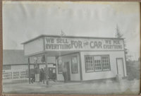 Forney's Auto Service Northwest Corner of Shaffer Ave. and First Street, 1925