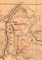 Department of Oregon Map of the State of Oregon and Washington Territory compiled in THE BUREAU OF TOPOGL ENGrs chiefly for the military purposes by order of Hon. John B. Floyd, SEC OF WAR, 1859