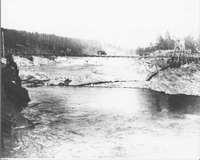 Bridge over Kettle Falls.