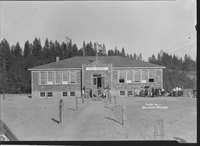 Kettle Falls High School Building
