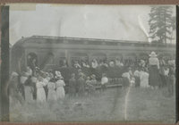 Great Northern train at Springdale
