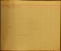 Benny Mellenberger Accounts Ledger (Pg 025)